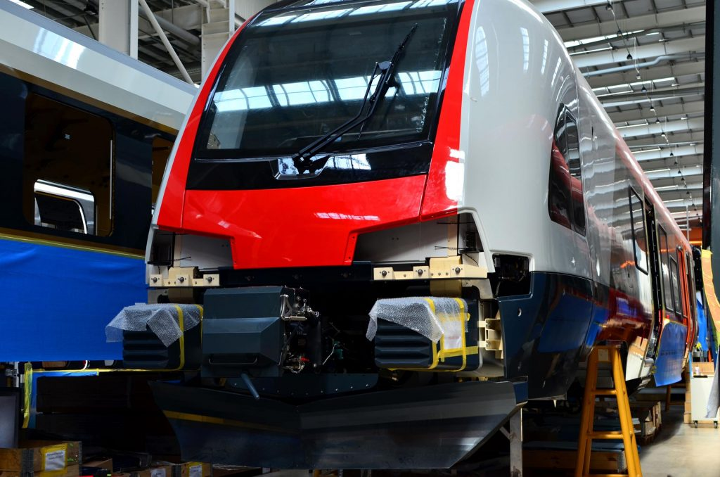IC train manufacturing